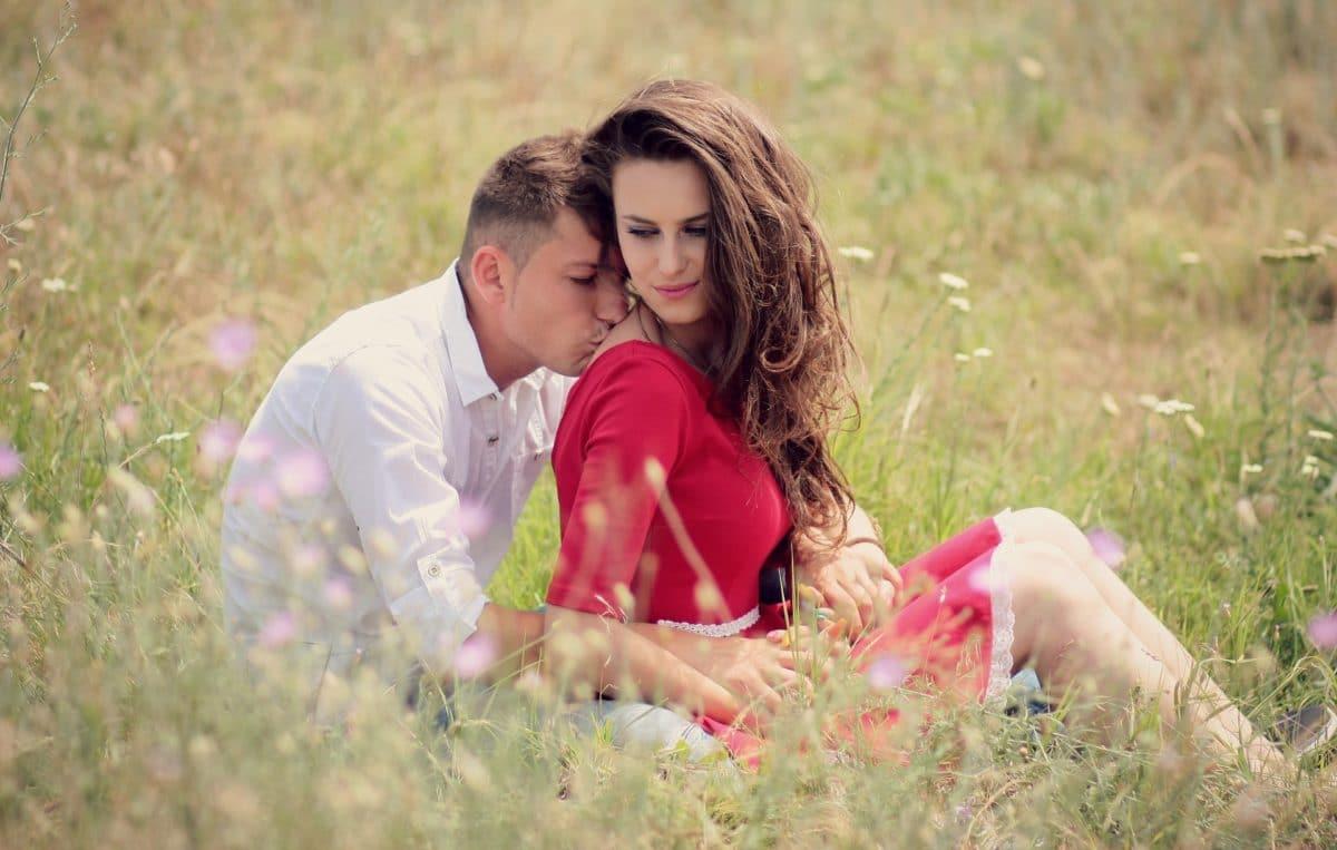 couple baisers