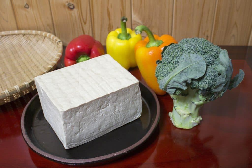 Bloc de tofu nature