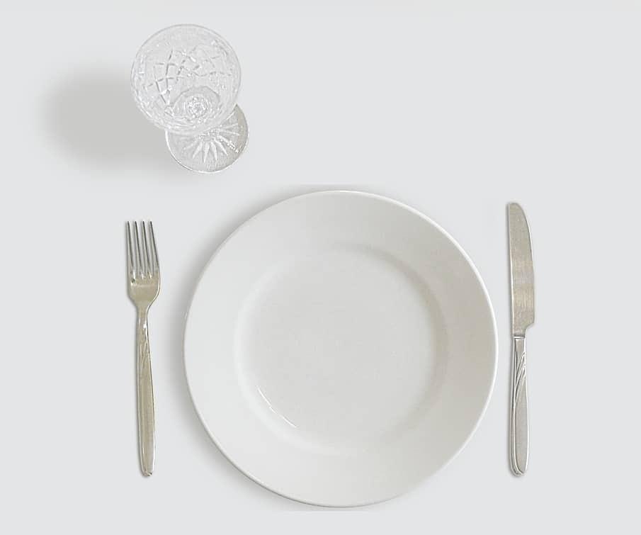 assiette manger sain