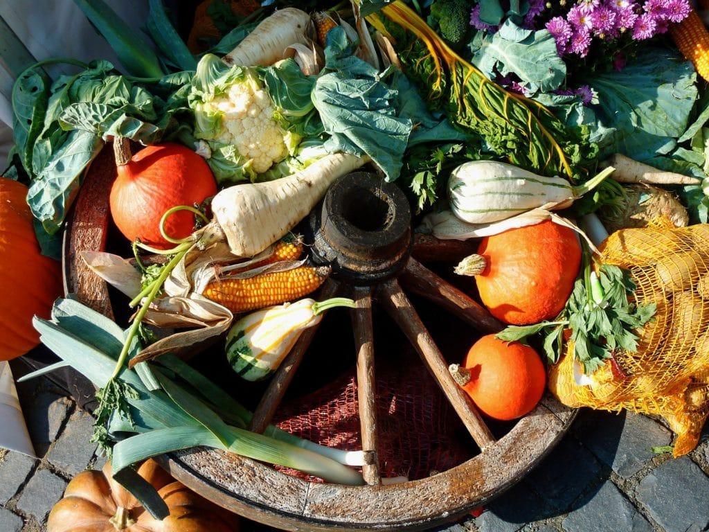 fruit et légumes pixabay