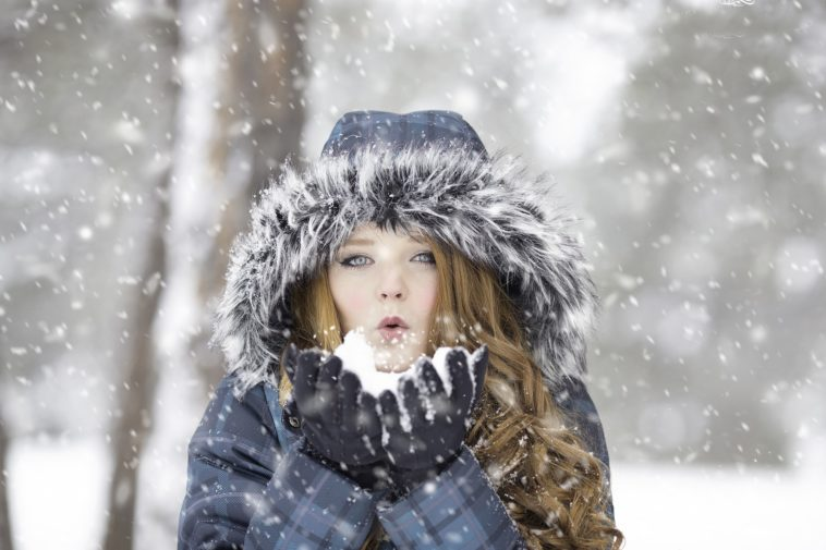 froid neige frissons