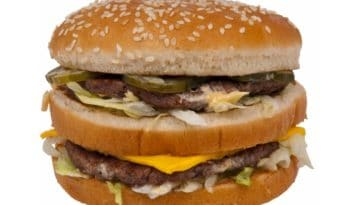 Mac Donald's burger