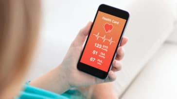 application mobile de santé