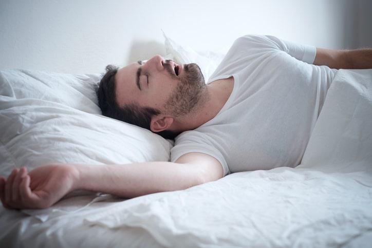 apnée du sommeil homme
