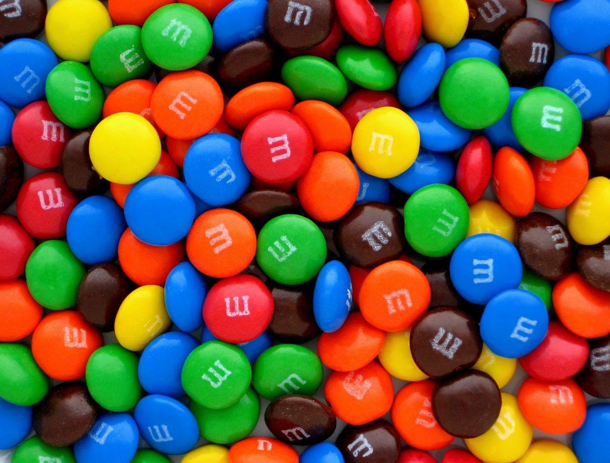 bonbons chocolat Mac Donald's