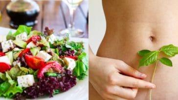 salade ventre