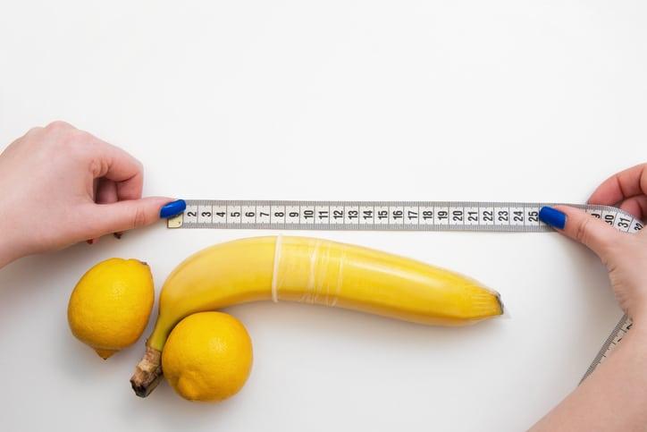 mesurer taille moyenne et longueur idéale pénis sexe