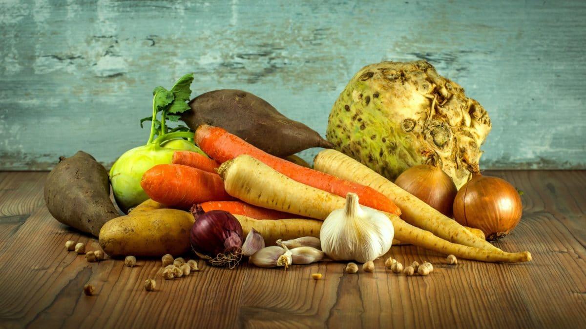 légumes carotte patate douce