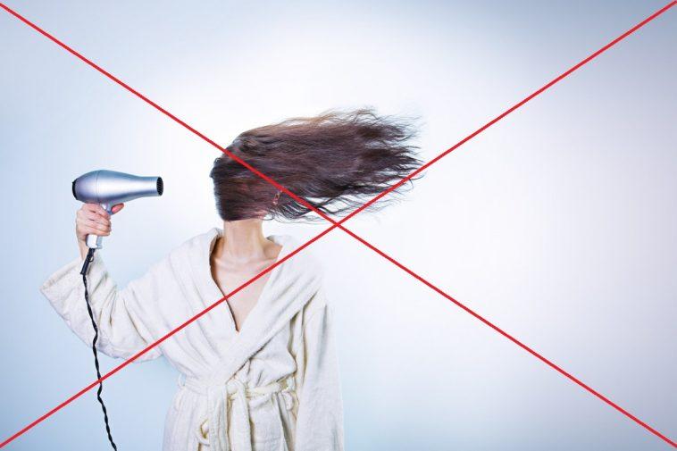 cheveux sécher