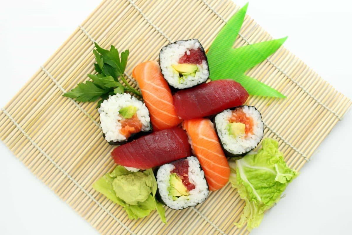 sushis saumon thon