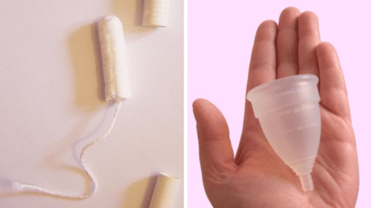 coupe menstruelle tampon hygiénique