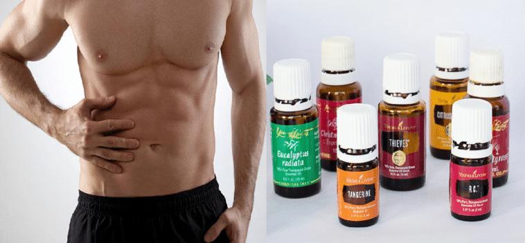 huiles essentielles ventre