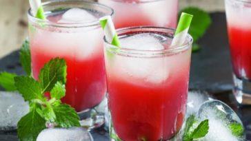 cocktail fruits rouges Docteur Tamalou
