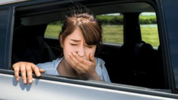 mal des transports nausées voiture