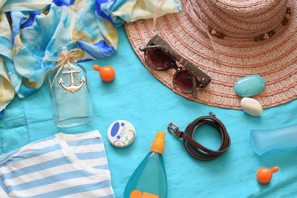 crème solaire plage vacances