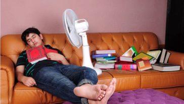ventilateur dormir danger santé