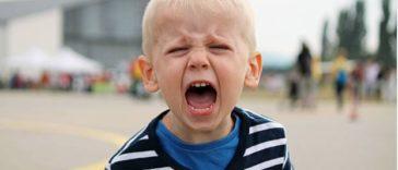 enfant caprice crise de colère