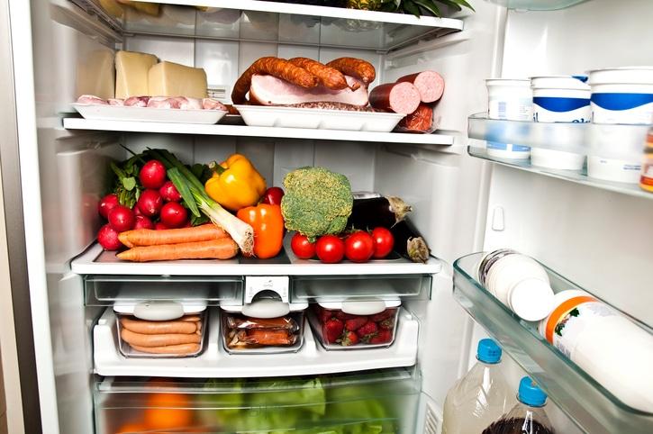 frigo fruits et légumes de saison