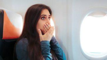 Femme avion peur iStock