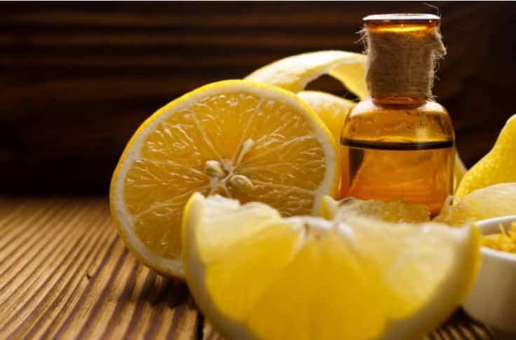 huile essentielle de citron maison