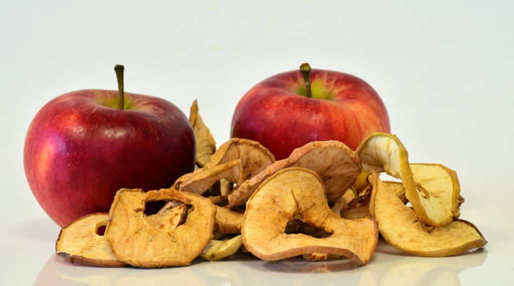 pommes fruits sec