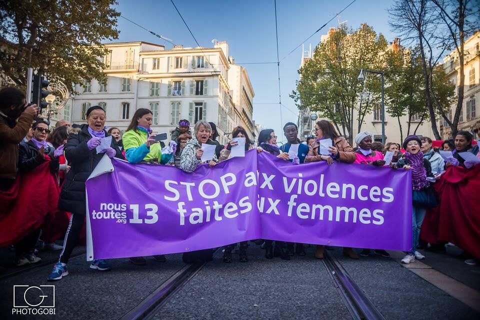 violence femmes manifestation