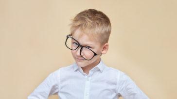 enfant-lunette