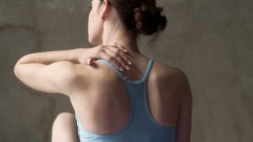 Back ache massage after a workout