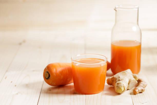 jus carottes gingembre