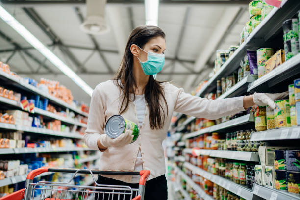 produits industriels supermarché