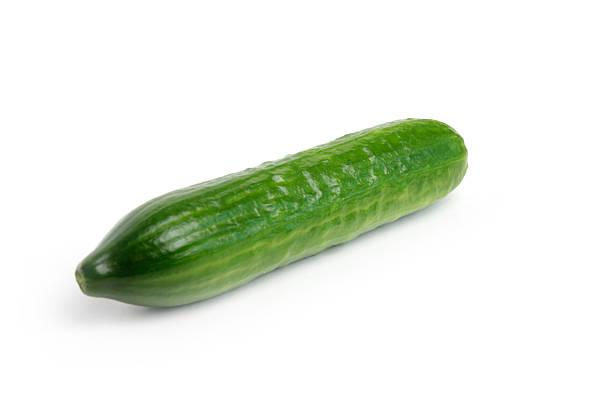 scene beautiful ripe fresh cucumber as element meal
