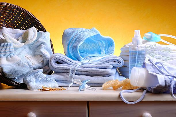 blue clothing and accessories hygiene newborn